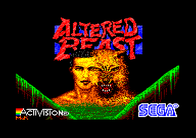 ALTERED BEAST (c) SEGA