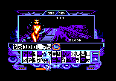 visuel captain blood femme nue jeu sur amstrad